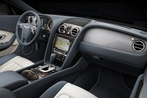 Bentley Continental GT V8: интерьер