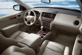 Nissan Pathfinder Concept: интерьер