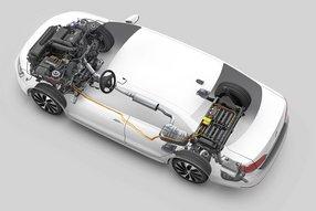 Фольксваген Jetta Hybrid: схема силовой установки