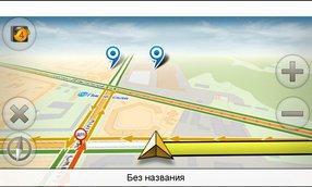 Yandex.Навигатор на teXet TM-5200