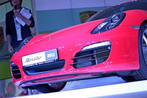 Новый Porsche Boxter 2012 фото