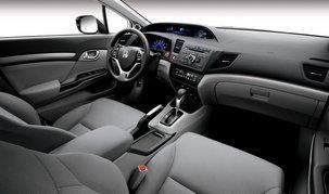 Интерьер Honda Цивик 4D 2012