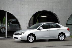 Субару Impreza Sedan третьего поколения