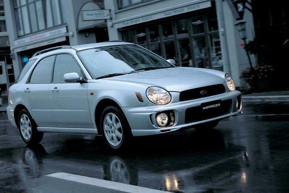 Субару Impreza Wagon второго поколения