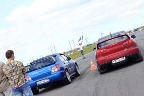 Историческая схватка - Ланцер Evolution vs Субару Impreza WRX STI