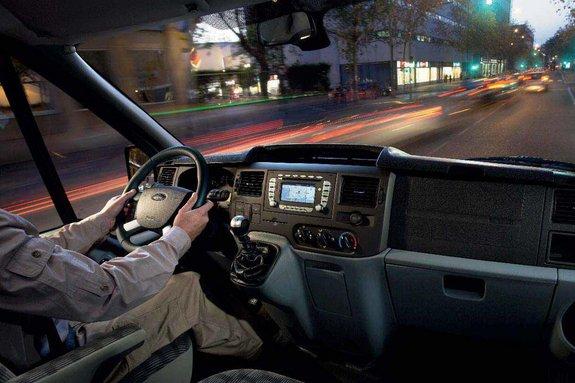 Кабина Форд Transit 2012