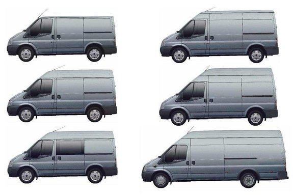 Модификации Форд Transit 2012