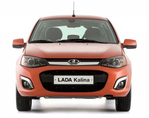 Новенькая Lada Kalina фото