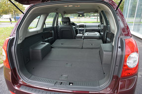 Багажник Шевроле Captiva 2012