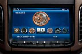 Luxgen5 Sedan. Экран системы Think+