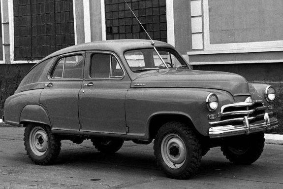 ГАЗ М72
