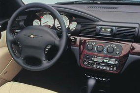 Интерьер Chrysler Sebring