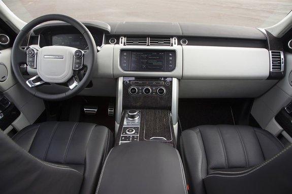 Обзор и маленький тест-драйв нового Рейндж Ровера 2012 (Range Rover New)