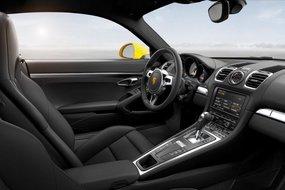 Porsche Cayman. Интерьер