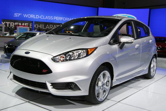 Форд Fiesta ST