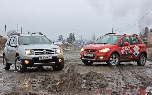 Рено Duster и Suzuki SX4