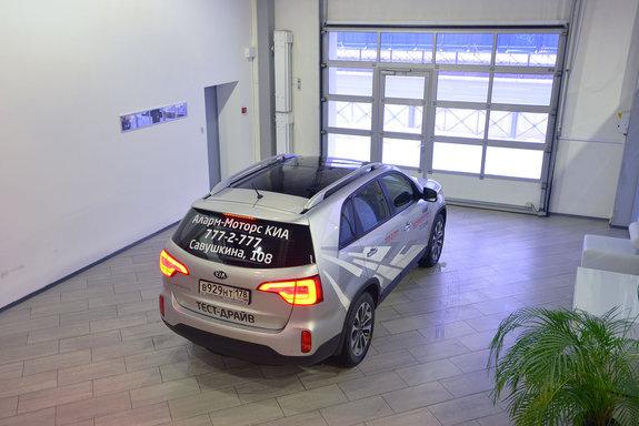 Тест-драйв нового Kia Sorento 2013