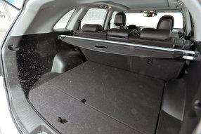 Тест-драйв нового Kia Sorento 2013 багажник