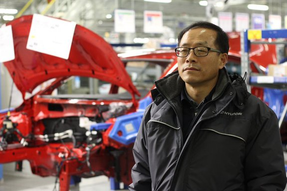 Исполнительный директор «Хендэ Мотор Мануфактуринг Рус» государь Ким Ши Пёнг