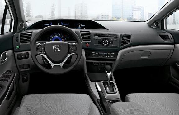 Интерьер Honda Цивик