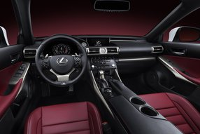 Lexus IS 2013. Интерьер