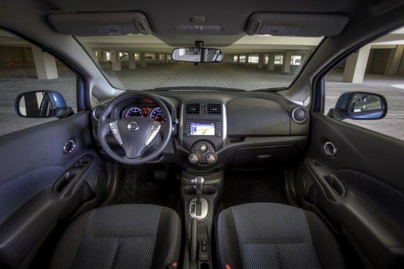 Новый Nissan Note. Интерьер
