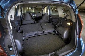 Новый Nissan Note. Багажное отделение