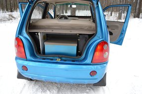 E-Car GD04B. Багажное отделение
