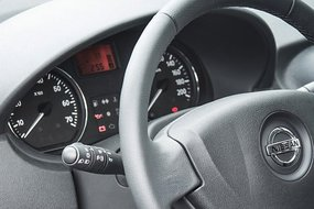 Nissan Almera New. Приборы