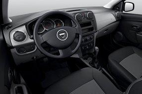 Dacia Logan 2. Салон