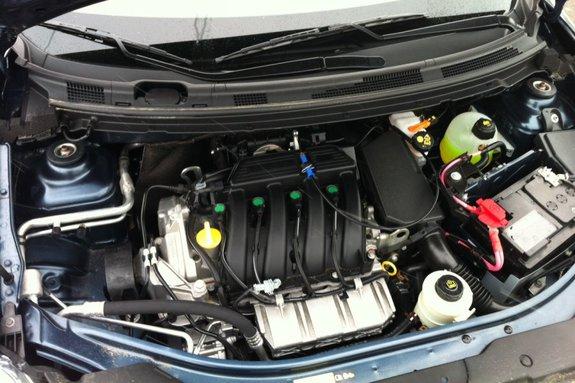 Nissan Almera New. Мотор