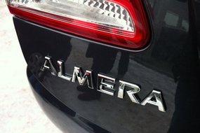 Nissan Almera New. Детали
