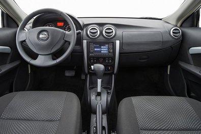 Nissan Almera New. Салон
