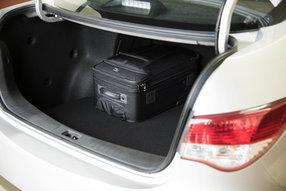 Новый Nissan Almera. Багажное отделение