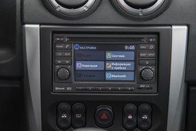 Новый Nissan Almera. Навигация