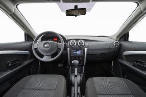 Новый Nissan Almera. Интерьер