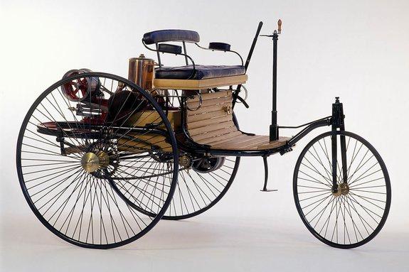 1-ый автомобиль Карла Бенца