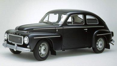 Volvo PV544 - 1-ый автомобиль с трехточечным ремнем безопасности