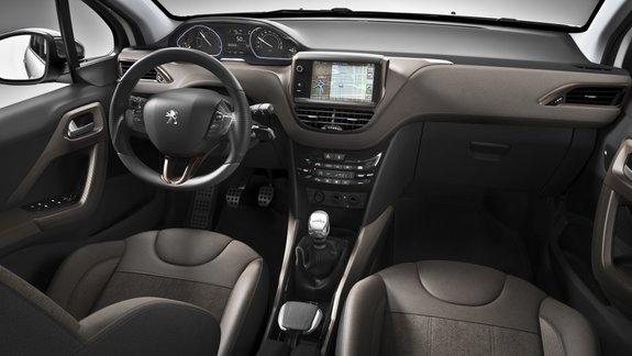 Peugeot 2008: интерьер