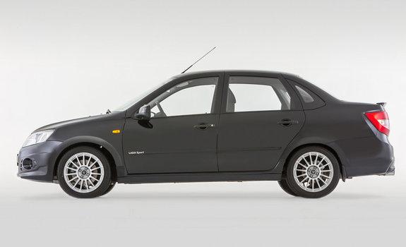 Новенькая Lada Granta Спорт