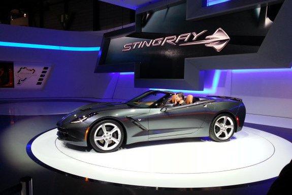 Шевроле Corvette Stingray