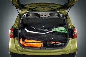 Suzuki SX4: багажное отделение