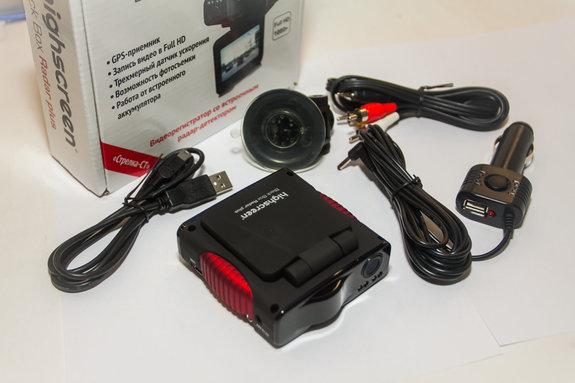 Видеорегистратор Highscreen Black Box Radar Plus