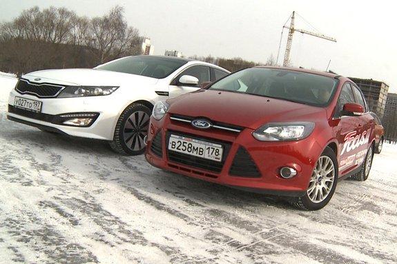 Ауди Q3, Kia Optima и Форд Фокус