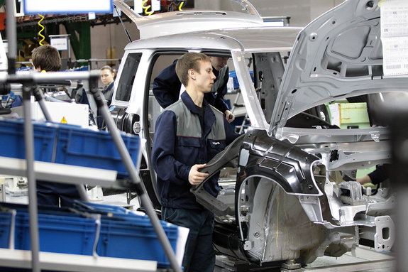 Совместное предприятие VW и ГАЗ: цех сборки