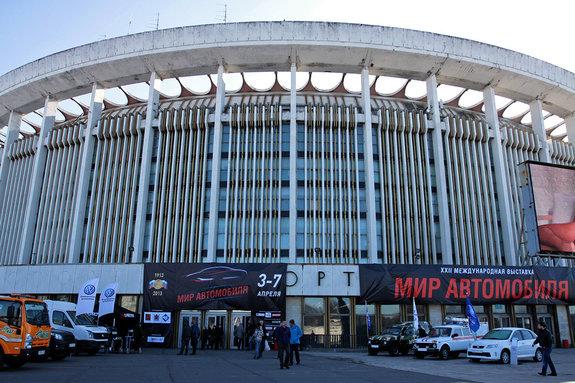 СКК Петербургский, Мир автомобиля 2013