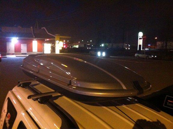 Багажник на крыше Lada Largus
