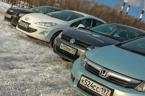 Конкуренты автомобиля Опель Astra