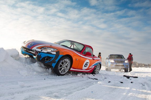 Мазда Ice Race 2013