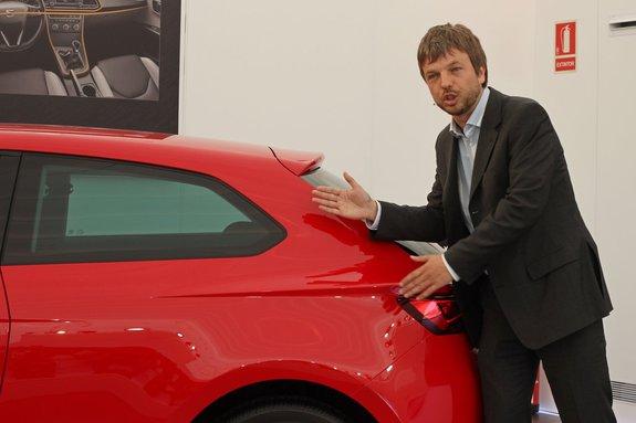 Даниэль Эрвас - управляющий проекта по дизайну SEAT